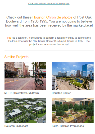 2018 Uptown Galleria Development History 2